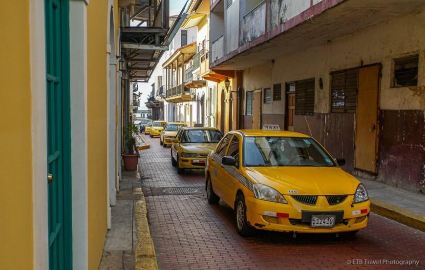 taxis in Casco Viejo