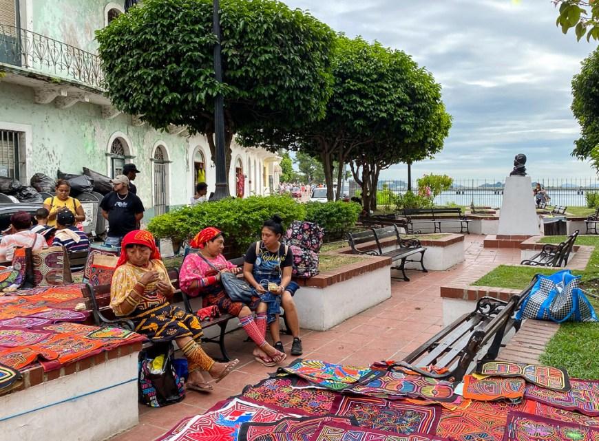Carlos V plaza in Casco Viejo