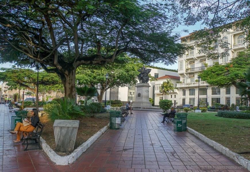 Plaza Herrera in Casco Viejo