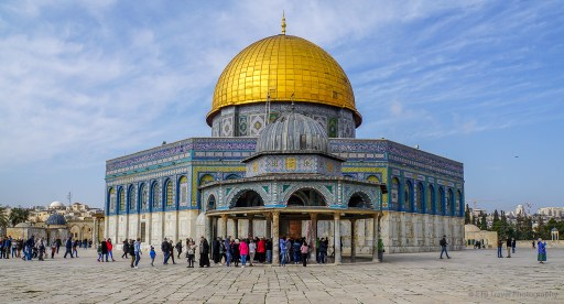 Dome of the Rock in Jerusalem