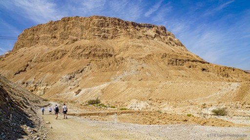 Snake Path up to Masada National Park