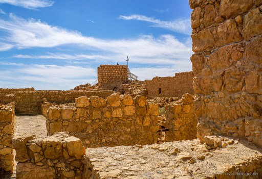 ruins at Masada National Park