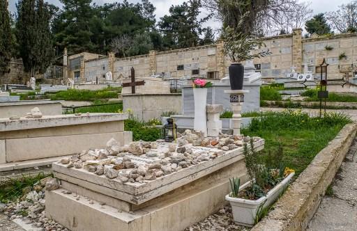 Schindler's grave in Jerusalem