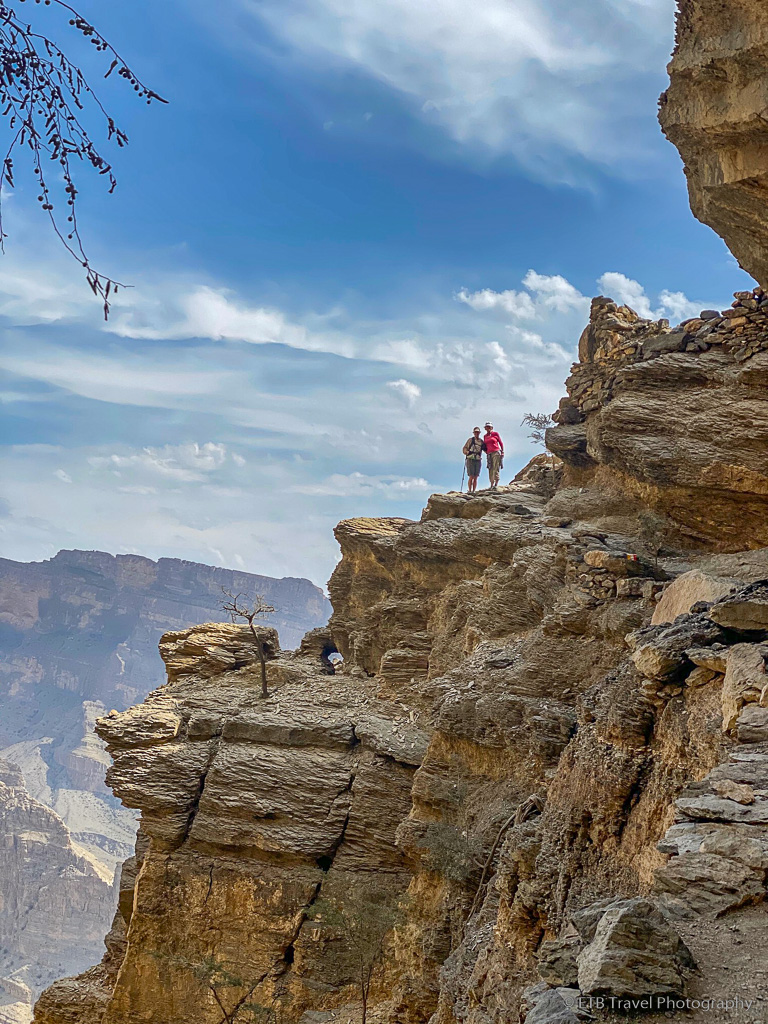 balcony walk in the grand canyon of oman