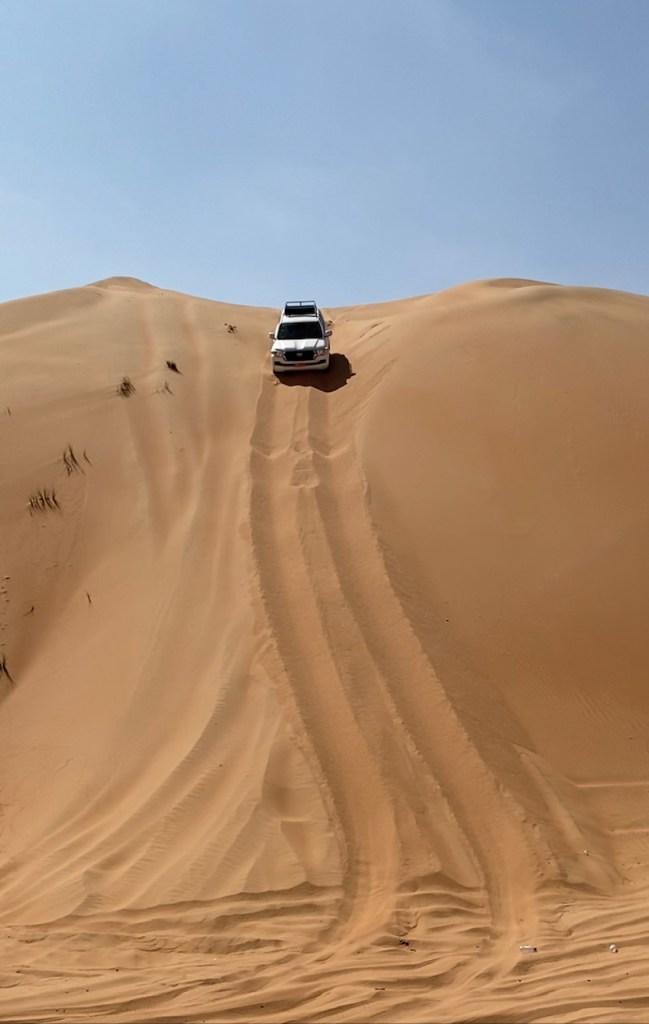 4x4 in Sharqiya Sands