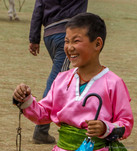 young horse racer at naadam