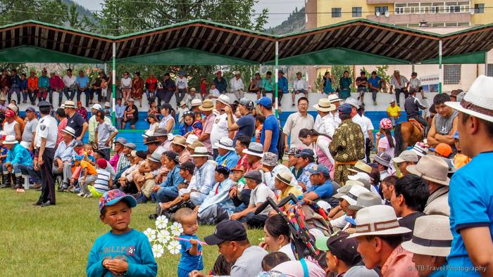 spectators at naadaam