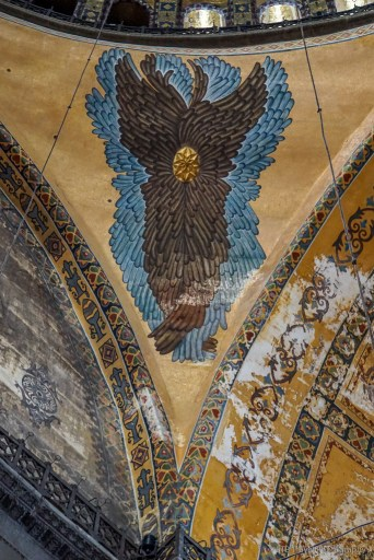 angel with no face in hagia sophia