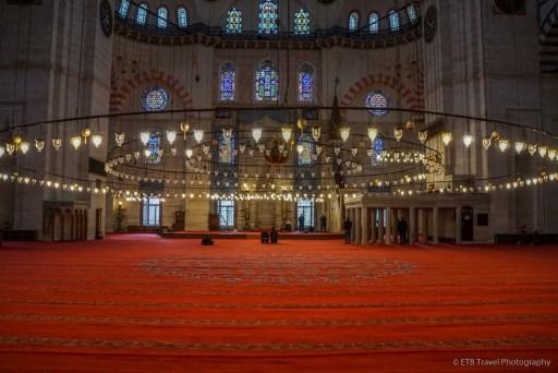 people praying in suleymaniye mosque