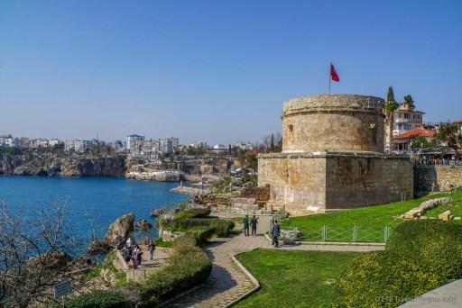 the castle in antalya