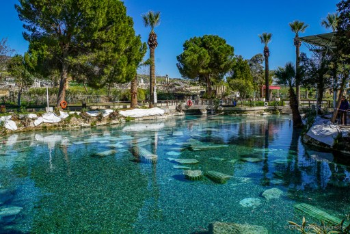 Pamukkale thermal pool