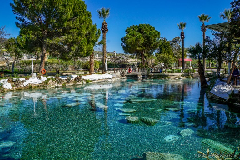 Pamukkale thermal pool