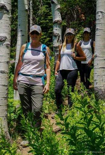 hiking thunderhead trail