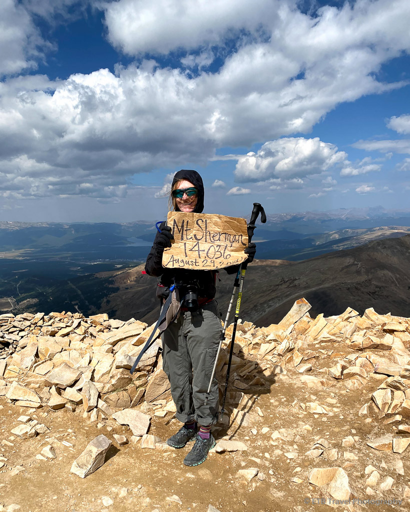 me on Mt. Sherman