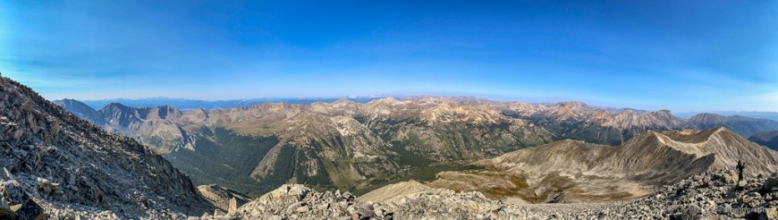 Pano from Huron Peak