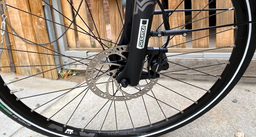 front wheel quick release on electric bike