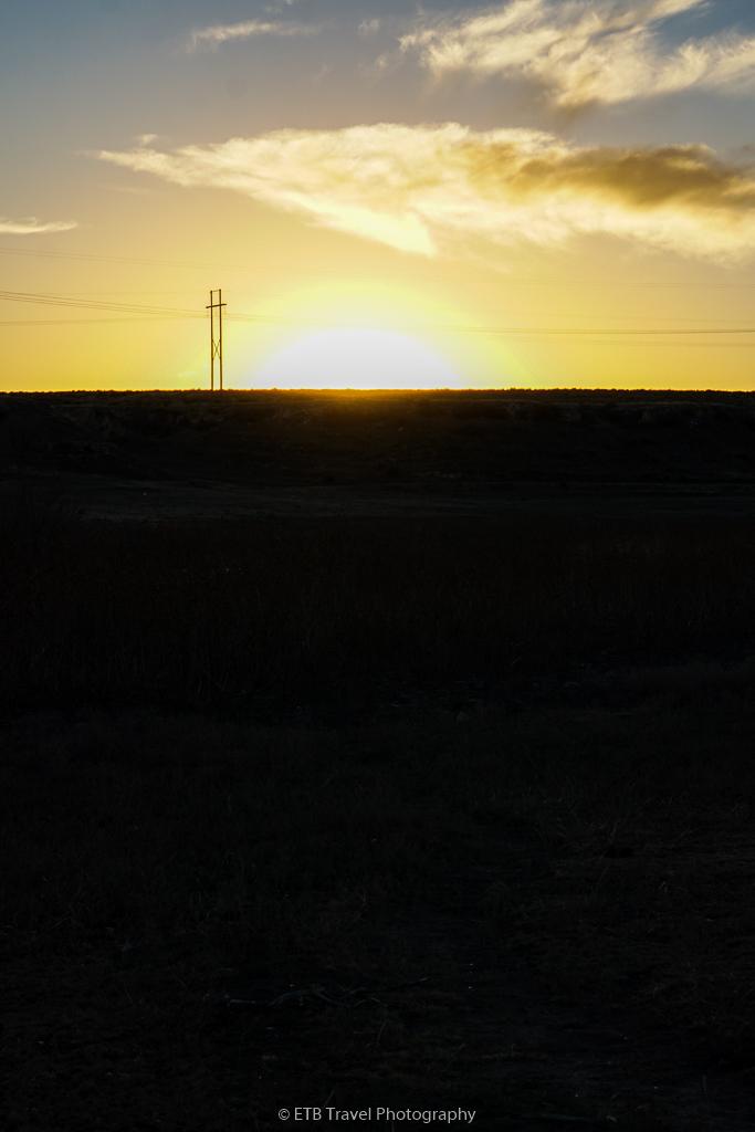 sunset at lake rita blanca