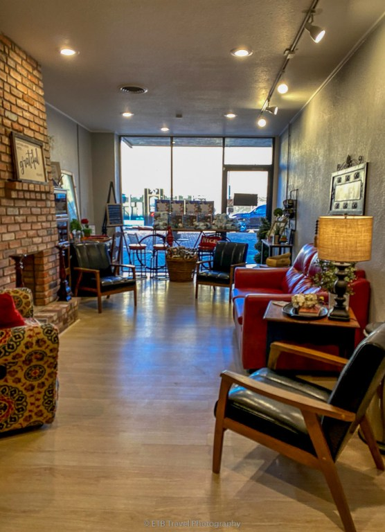 The Flying Pig Coffee and Tea Bar in Dalhart