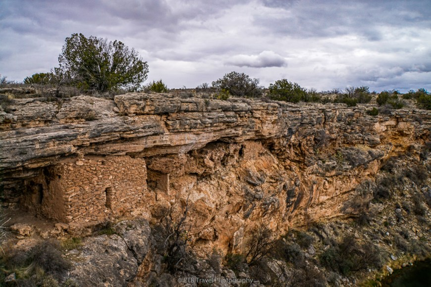 indian ruins at montezuma well
