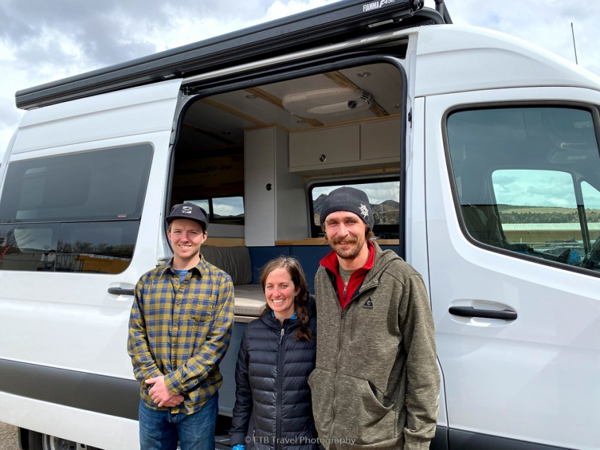 Ollie, Colleen, and Patrick with VANgo
