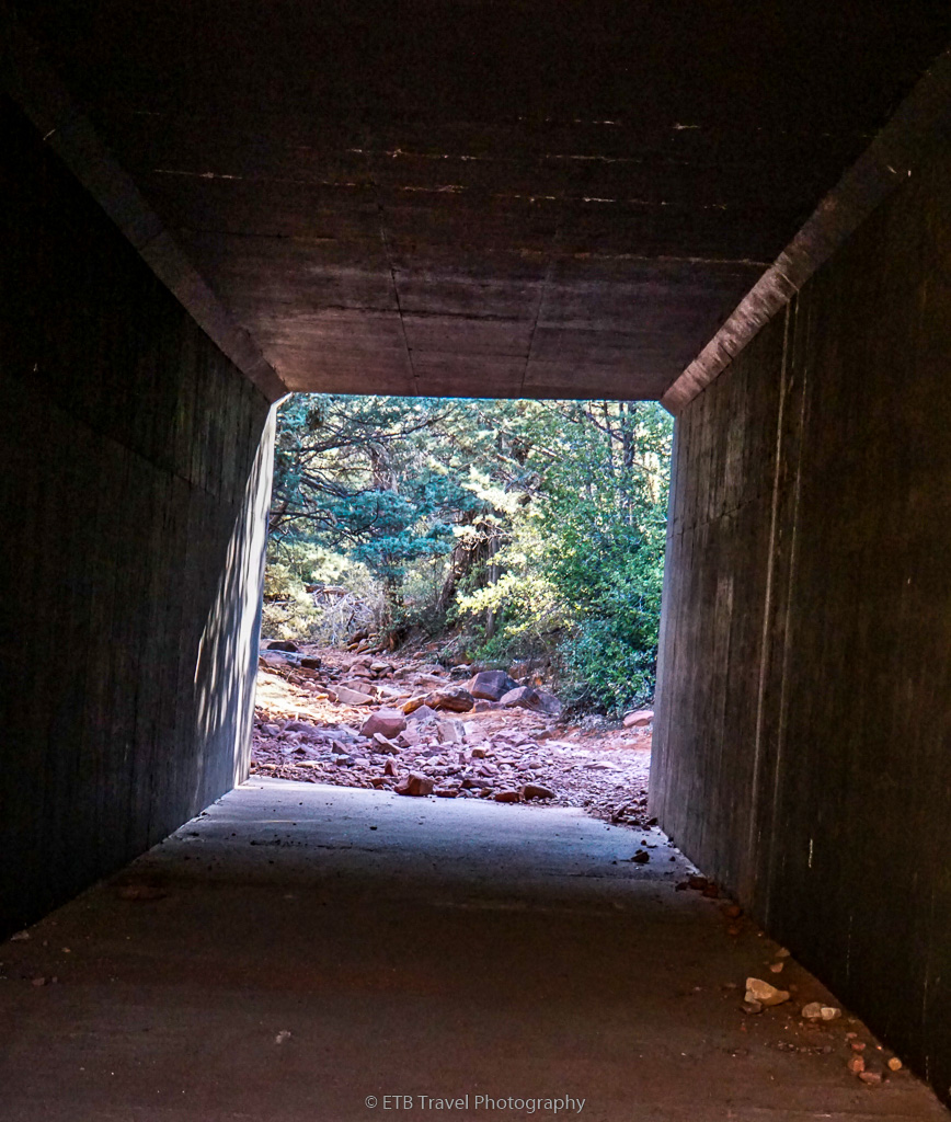 Ht Trail under the highway