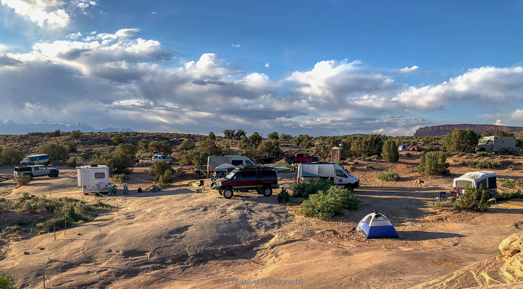 campsite on willow springs road
