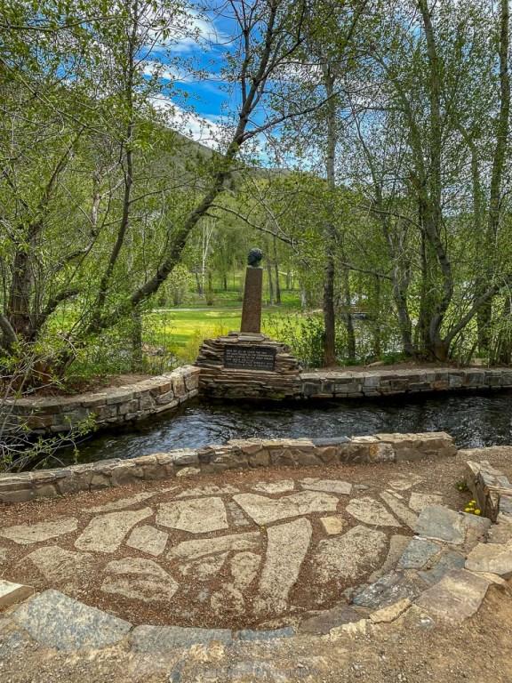 ernest hemingway memorial on sun valley road