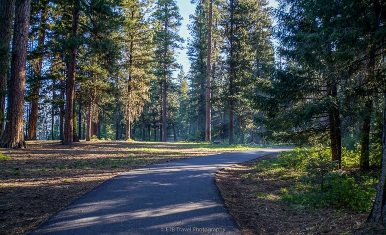 peninsula trail hike near mccall