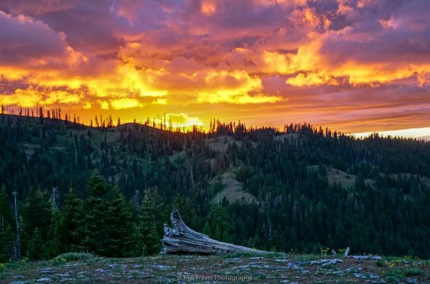 sunset near dayton
