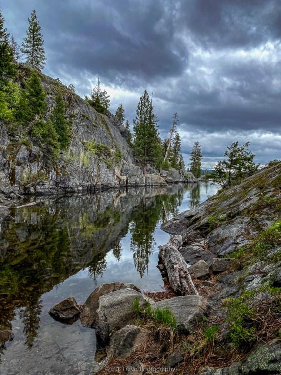 view at payette lake