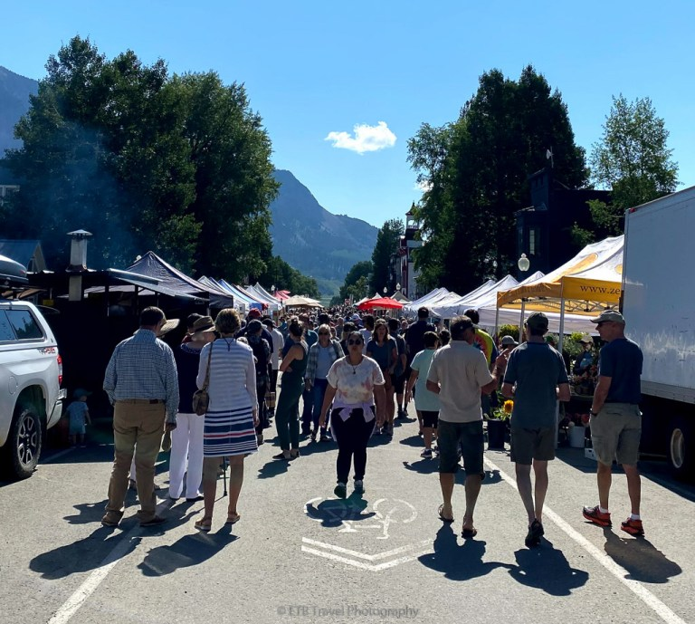 farmers market in crested butte
