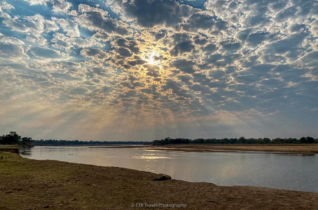 sunrise in zambia