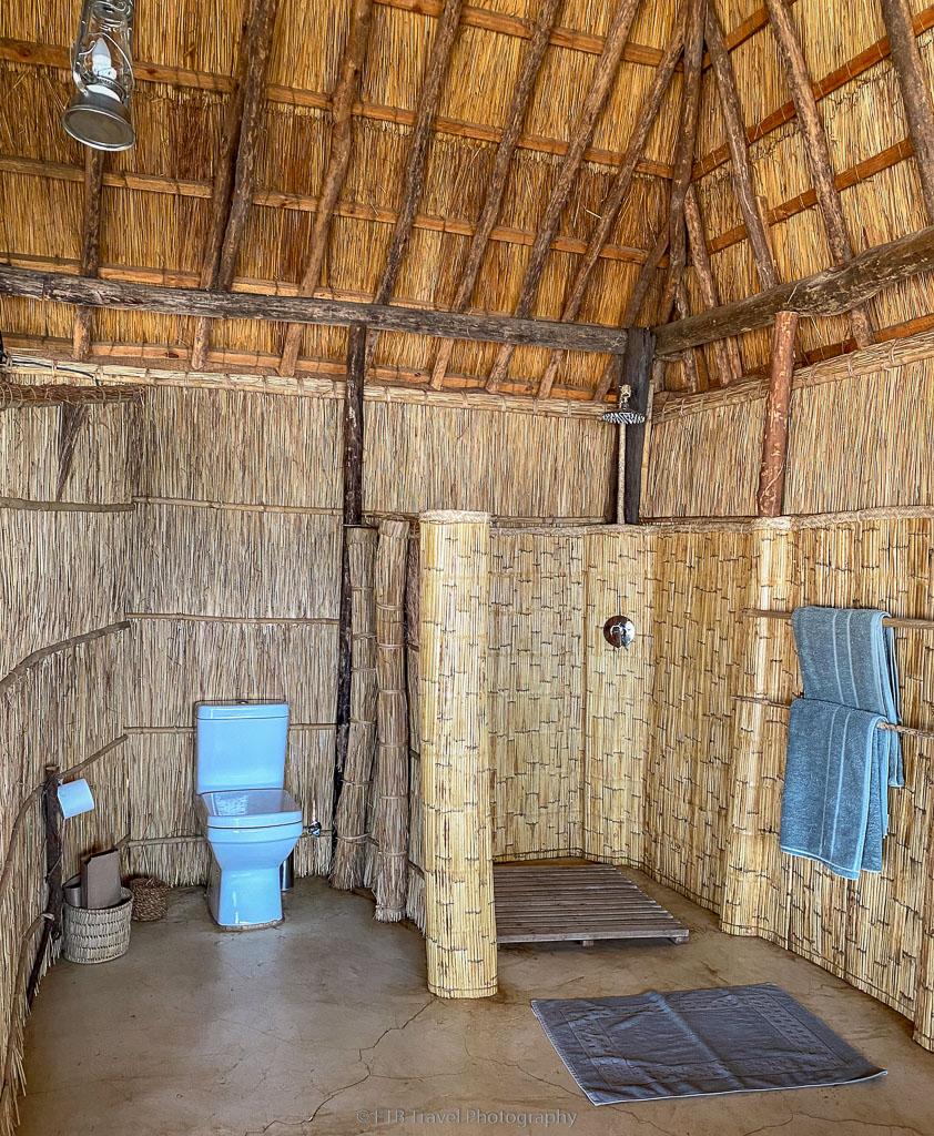 indoor shower at kakuli