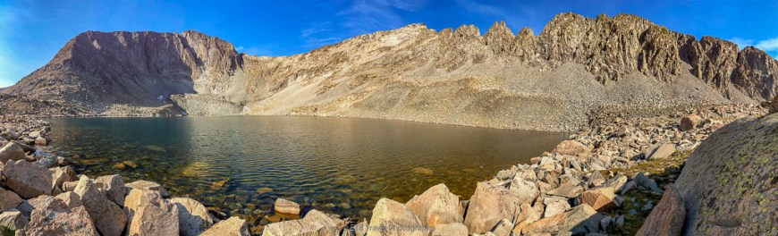 snow lake in state forest state park