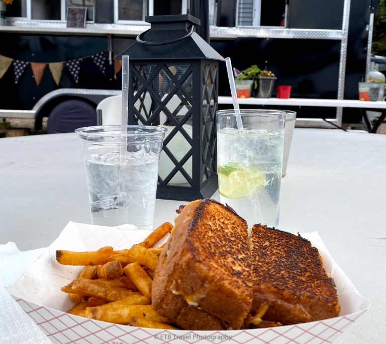 grilled cheese at stockman bar & grill