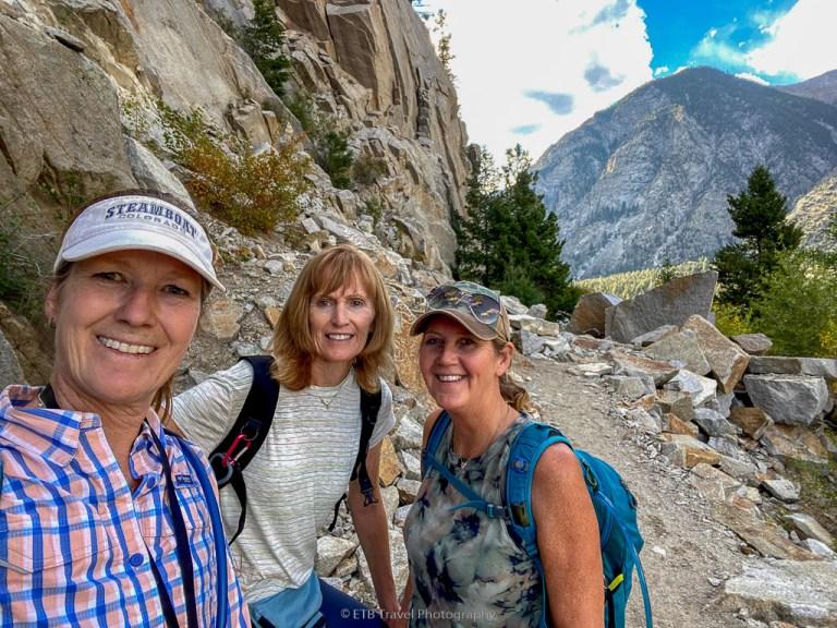 narrow gauge trail hike in buena vista