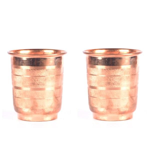 copper glassware set