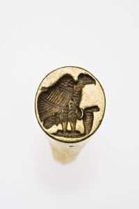 Signet ring 200–320 A.D. Gold *Harvard University—Boston Museum of Fine Arts Expedition *Photograph © Museum of Fine Arts, Boston
