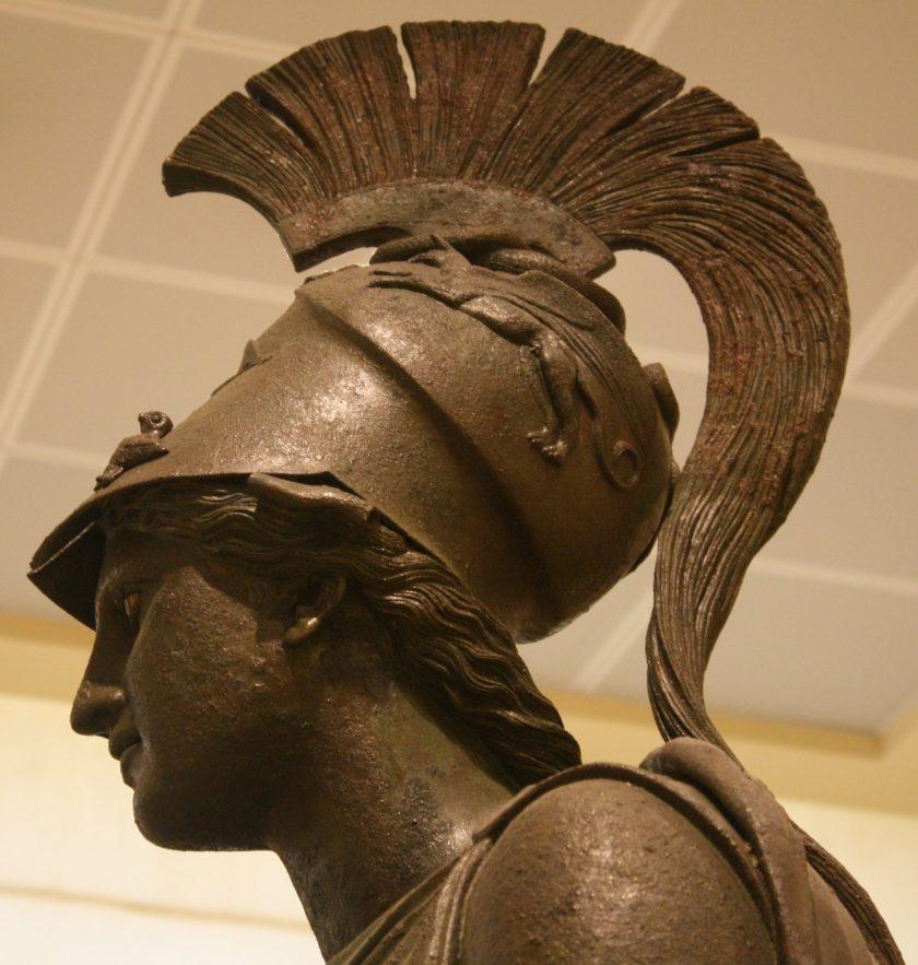 The Piraeus Athena (Detail)