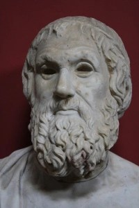 Sophocles, 1st century BCE, photo by Mark Cartwright (http://www.ancient.eu/image/1443/)