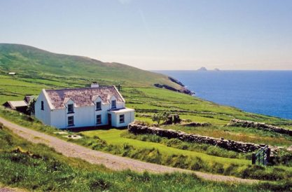 A drive along the Ring of Kerry presents classic views of the Irish countryside. (photo: Pat O'Connor)