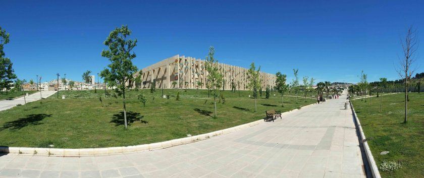 View of the new museum complex