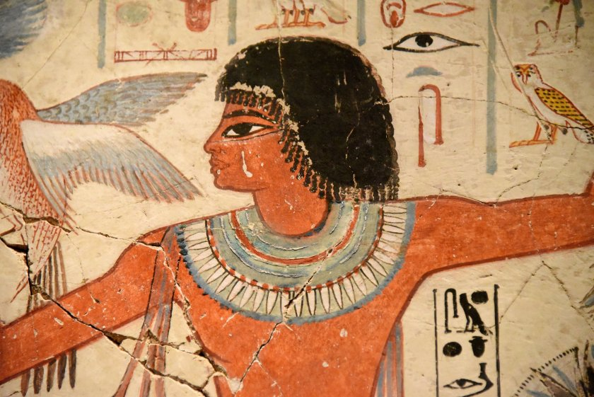 """This is Nebamun; his name means """"My Lord is Amun"""". The British Museum, London. Photo © Osama S. M. Amin"""
