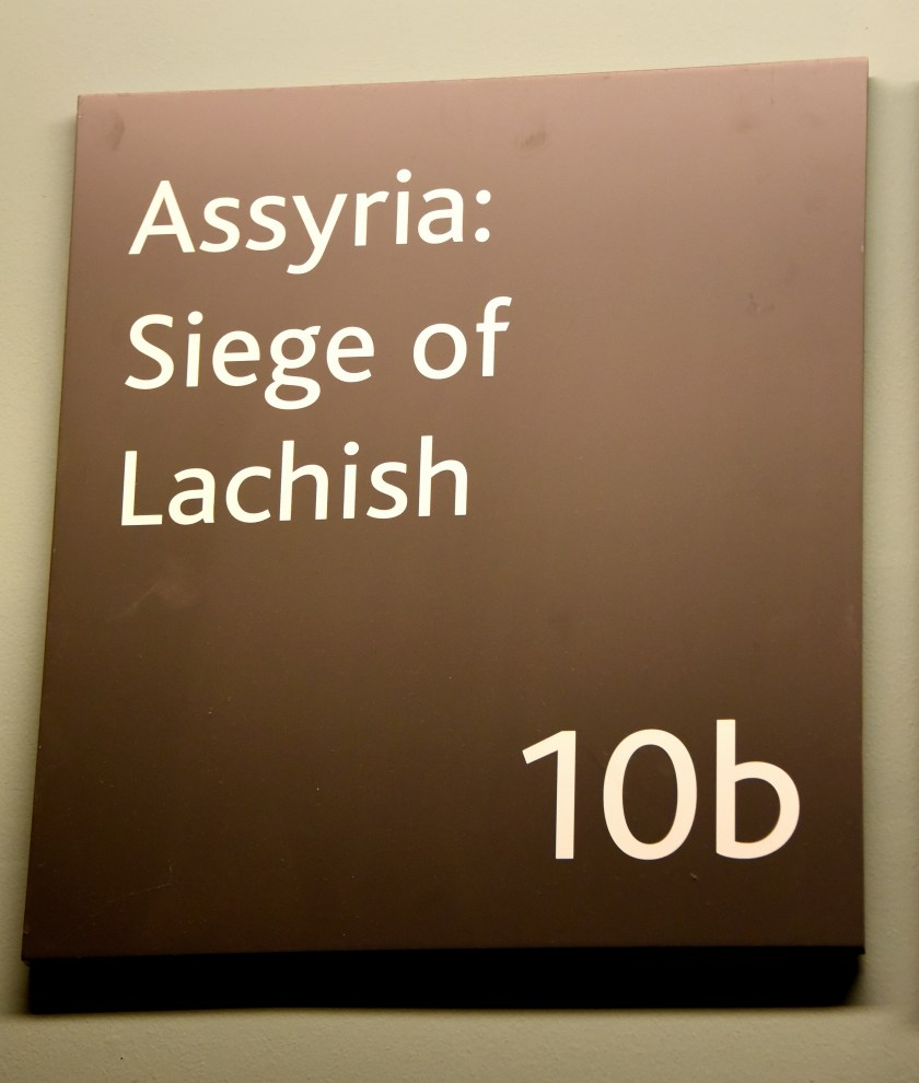 Room 10b at the British Museum. Assyrian; The Siege of Lachish. © Osama S. M. Amin.