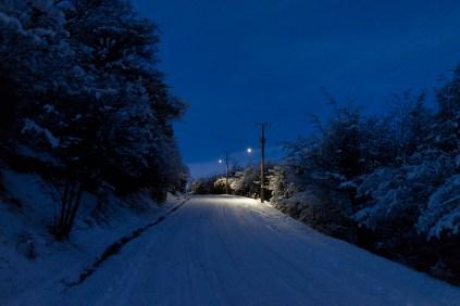 Les nuits sont longues mais belles (16 heures à cette époque).