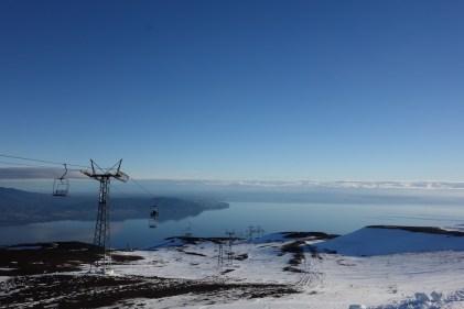 Vue du Volcan Osorno