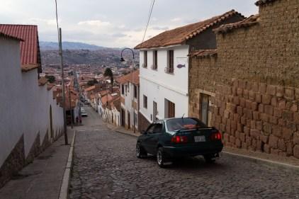 Les rues pentues de Sucre