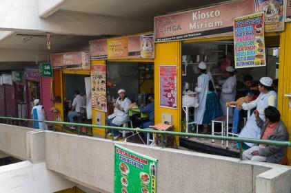Au mercado central de La Paz.