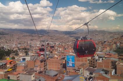Sur les hauteurs de La Paz, à El Alto.