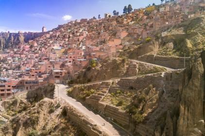 En route vers El Alto.